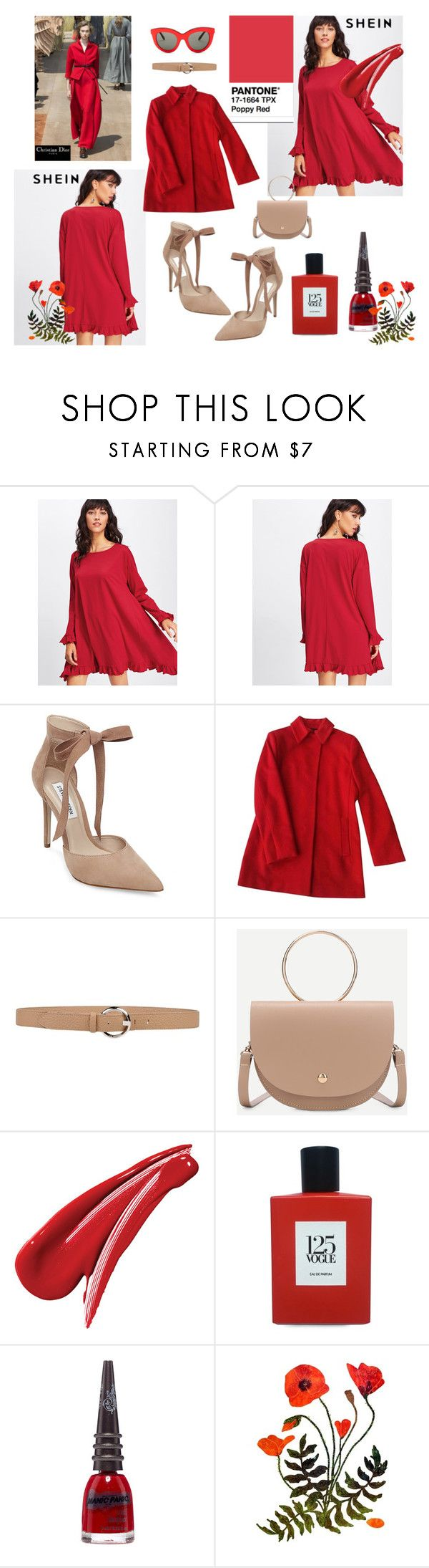 pop of colour by paisleyvelvetandlace on Polyvore featuring Jil Sander, Steve Madden, Victoria Beckham, Orciani, Comme des Garçons, Manic Panic NYC and Christian Dior