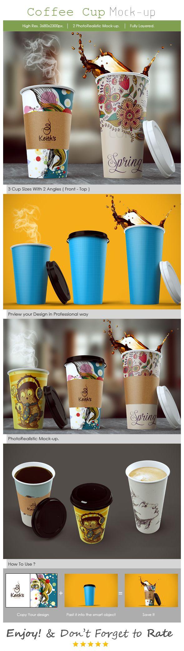 https://www.behance.net/gallery/19029687/Coffee-Cup-Mockup