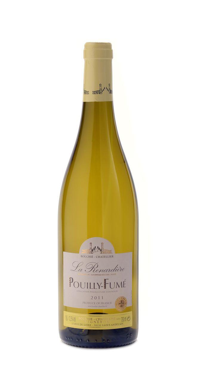 Wine until Nine - Pouilly-Fumé, La Renardière, 2012, AOC Pouilly-Fumé, €14.30 (http://www.wineuntilnine.com/pouilly-fume-la-renardiere-2012-aoc-pouilly-fume/) Deze mag er ook bij. Onlangs op een degustatie heb ik hem geserveerd met een carpaccio van St-Jacobsschelpen, het was een zeer geslaagd huwelijk moet ik zeggen. Deze wijn met zijn frissen zuren en krachtige vegetale aroma's doet het dus schitterend bij vis en schaaldieren.