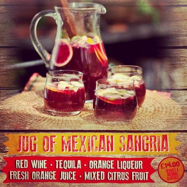 This Mexican sangria is perfect for sharing and makes a fab summer drink!