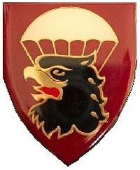44 Parachute Regiment is the South African Army's chief airborne infantry unit. It was created in 2000 by redesignating 44 Parachute Brigade, and is based at the Tempe military base near Bloemfontein.