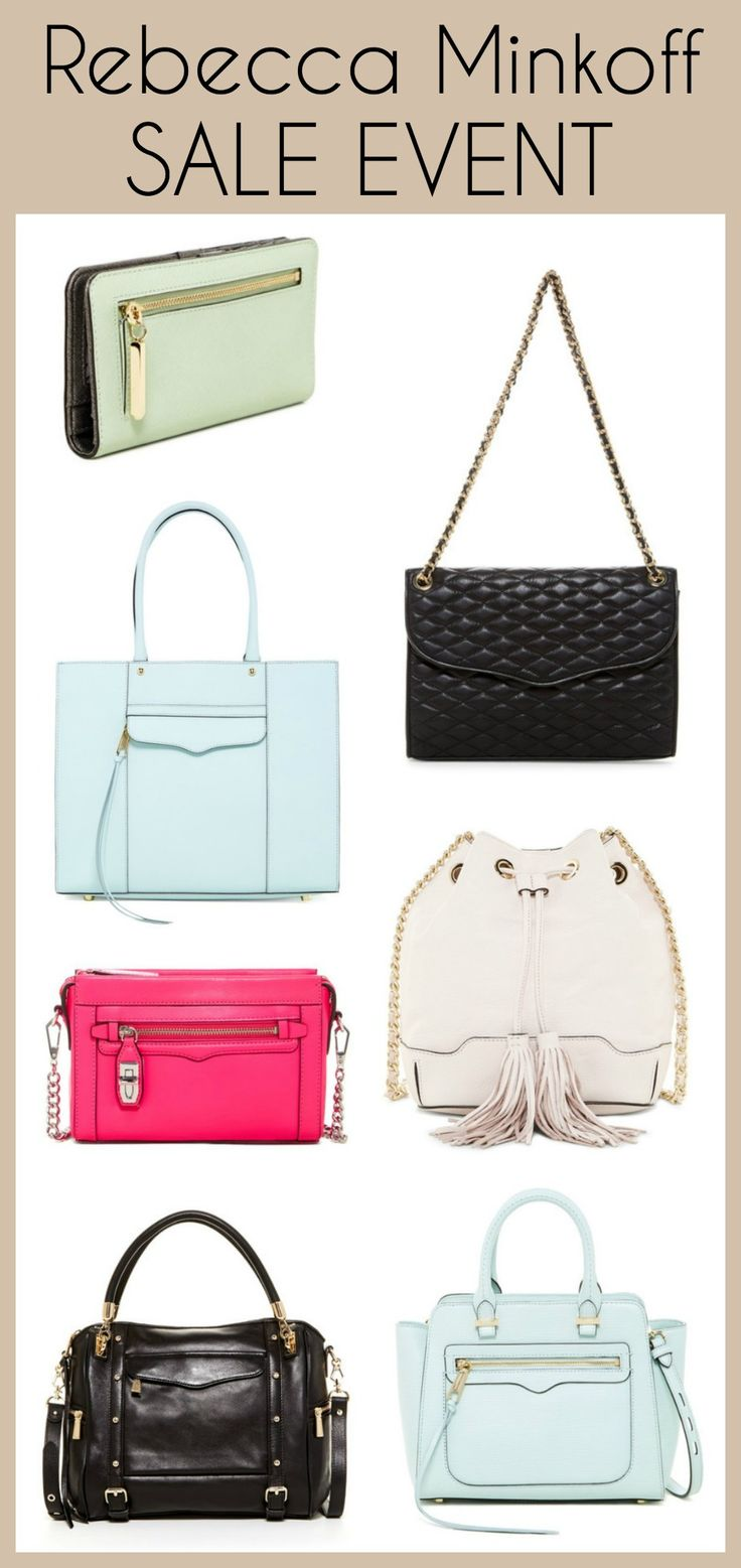 Flash Sale on Rebecca Minkoff bags! 24 hours only on @hautelook!! Get the deets: http://www.jolynneshane.com/rebecca-minkoff-handbag-sale-event-on-hautelook.html