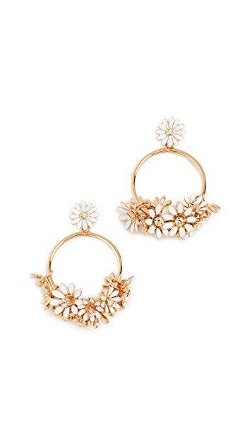 8a8cacff7 Loves Me Loves Me Not Drop Hoop Earrings | Jewelry | Earrings, Hoop ...