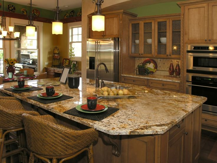 58 best kitchen images on Pinterest Window sill, Faucets and Granite - kitchen granite ideas