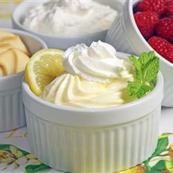 Lemon-Lime Mousse.
