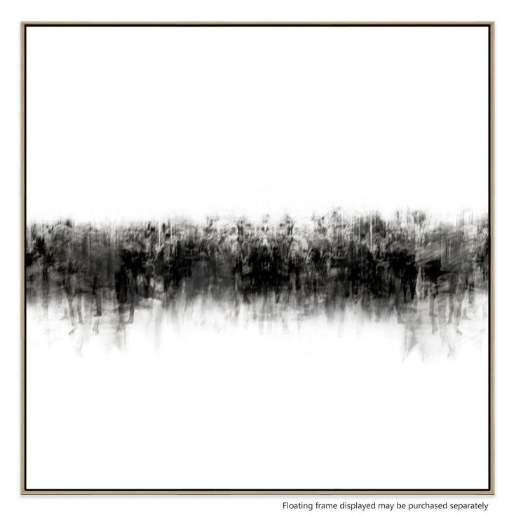 Catch the eye with this striking, minimalist design. With it's understated composition, this piece utilises a bold, monochromatic look to create an exciting feature for your living room, bedroom or office.