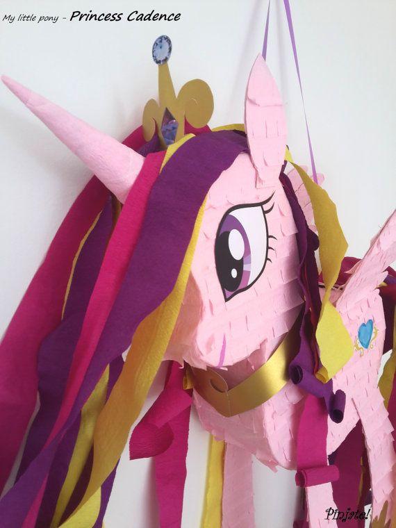 Mi pequeño pony cadencia princesa pinata regalo de