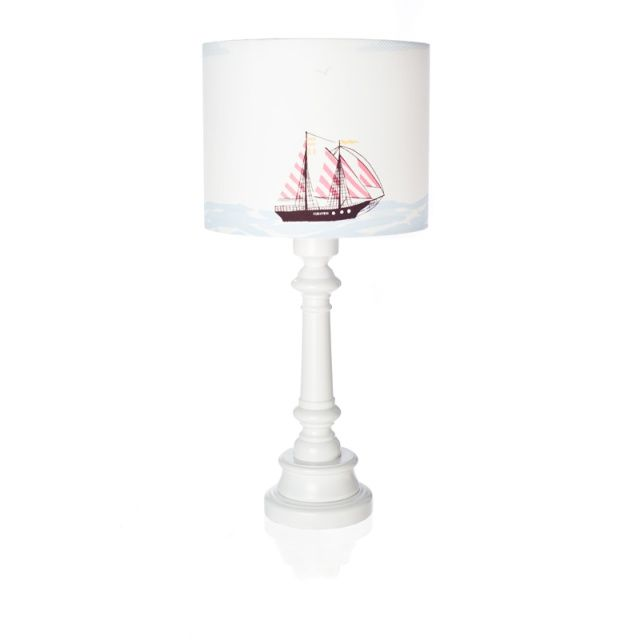 SHIP AT SEA lamp for kids - Lamps & Co.  Remarkable table lamp SHIP AT SEA is a great idea for additional lighting in children's room.