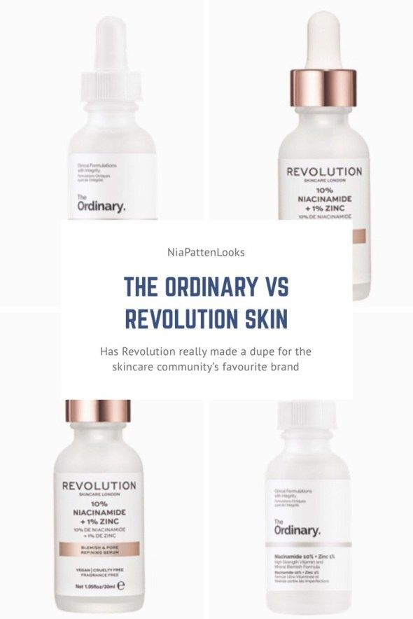 Revolution Skin Vs The Ordinary Are They Really Dupes Organic Skin Care Routine Organic Skin Care Skin Care