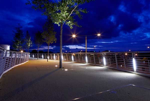 Winnersh Footbridge | Designplan Lighting