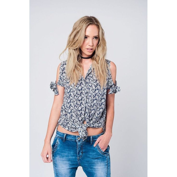 #CoolHatcher #Curated Cold shoulder nav... http://theartofliving.earth/products/cold-shoulder-navy-shirt-with-floral-print?utm_campaign=social_autopilot&utm_source=pin&utm_medium=pin #SocialGood