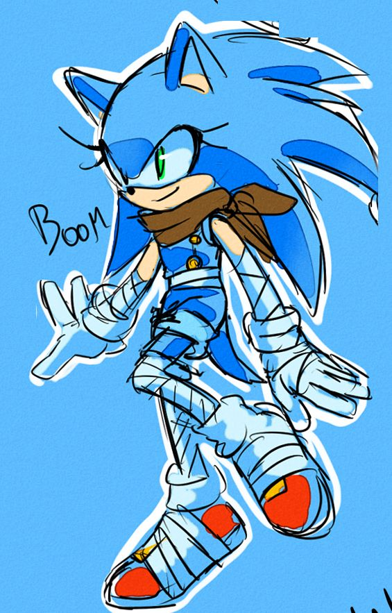 drawloverlala:  another set of Genderbends.. this time only Sonic.. hope u like it