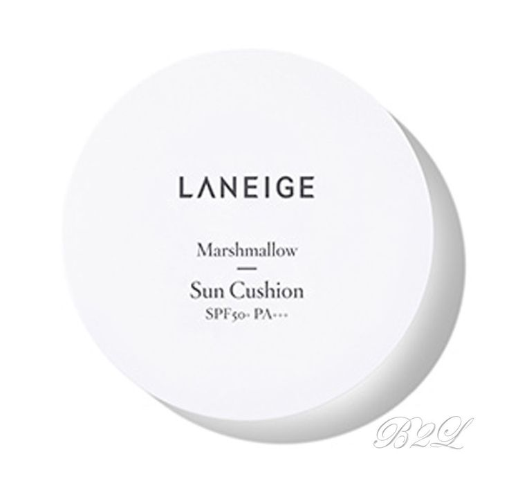 [LANEIGE] Marshmallow Sun Cushion SPF50+ PA+++ 10g / Sunblock by Amore Pacific #LANEIGE