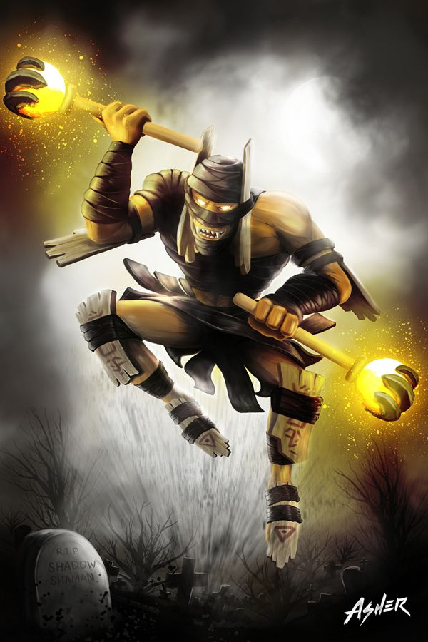 Shadow Shaman of Dota 2