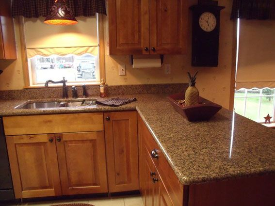 The Pictures Of Desert Brown Granite Countertops Design