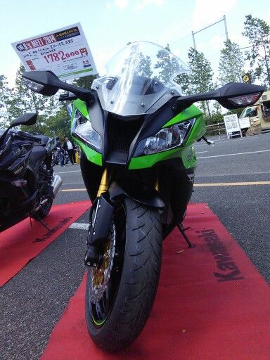 ZX10R is made for win the superbike championship.
