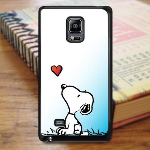 Snoopy Cartoon Samsung Galaxy Note 4 Case
