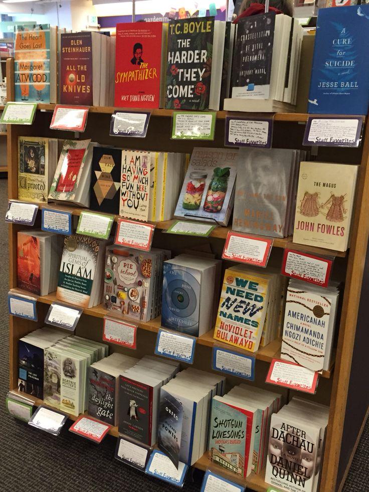 UW bookstore staff picks.
