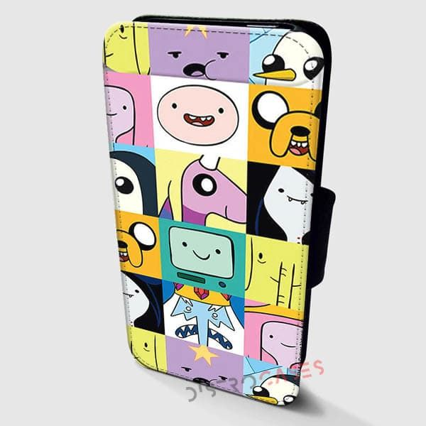 Adventure Time Cases Wallet Leather | Distrocases.com - awesome phone cases    ORDER HERE => https://distrocases.com/product/adventure-time-cases-wallet-cases-samsung-cases-iphone-wallet-case-39/