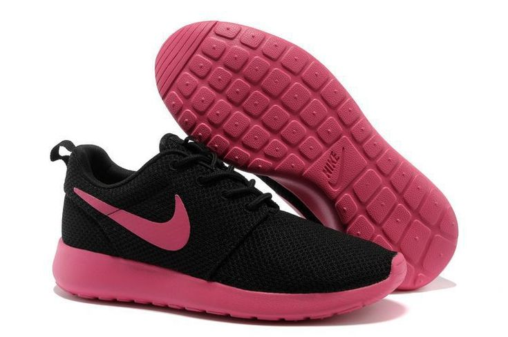 competitive price f39d7 7288c ... coupon code for chaussures nike roshe run id femme noir peachblow  peachblow logo pas cher en ...