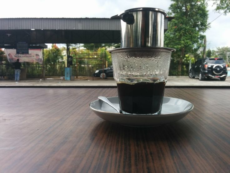 vietnam drip #coffee #manual #brew #indonesia #booth #kiosk #pekanbaru #manualbrew #manualbrewonly