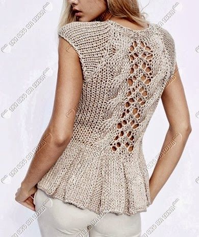 Knit Backview