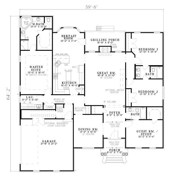 30 best House Ideas images on Pinterest Home plans Architecture