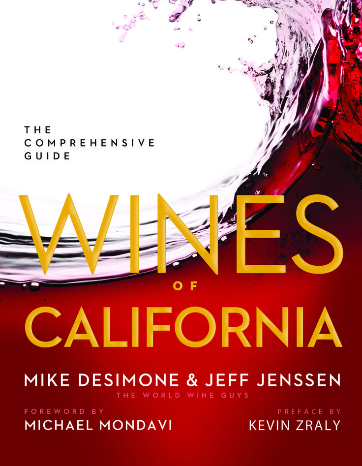 Fantasti book on the Wines of California by Mike DeSimone and Jeff Jensen. Absolutely comprehensive and spectacular!!!!