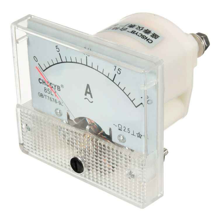 ammeters circuit instruments Circuit or loss of power ammeters must always be connected in series with the circuit, never in parallel that is, all the circuit current must flow through the meter it is connected by attaching the positive lead to the positive or battery side of the circuit, and the.