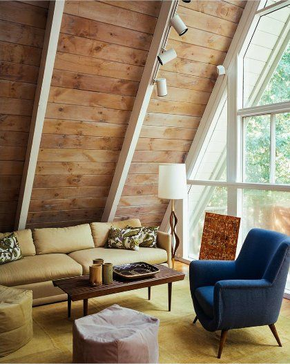 217 best a frame ideas images on pinterest home ideas for A frame cabin interior