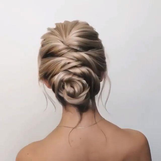 #hair #haircolor #updo #weding #bride #love –