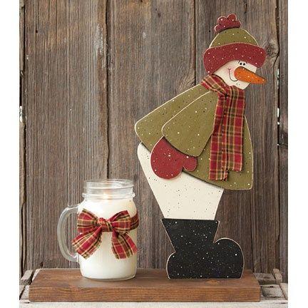 snowman warming