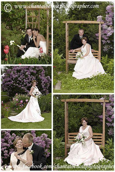 #Wedding Photos in the garden at #Strathmere