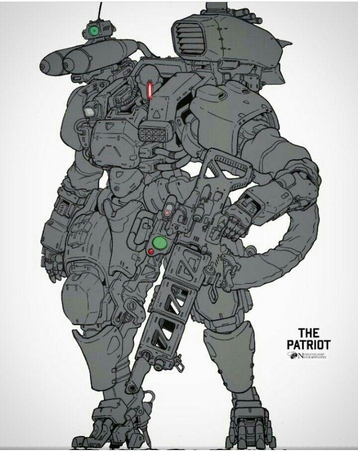 robot illustration fantasy armor future tech spaceship design shadowrun battleship character ideas character design armour