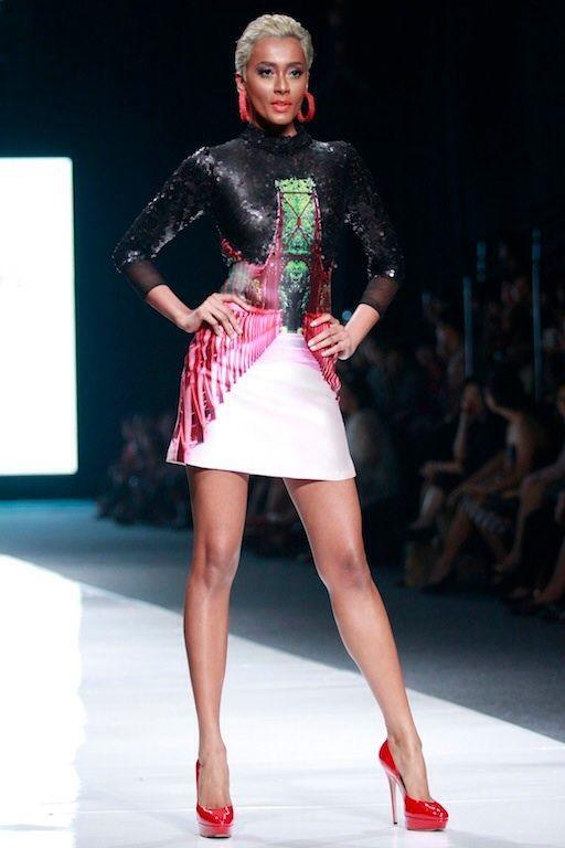 #BILLYTJONG Our 1st Ready To Wear Printed dress on Jakarta Fashion Week13 on Nov 2012 Look 2