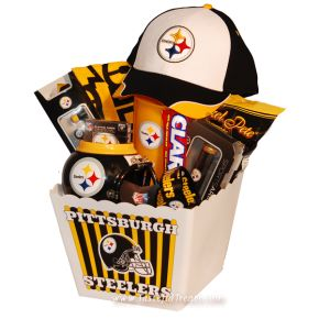 11 best for the steelers fan images on Pinterest   Gift baskets ...
