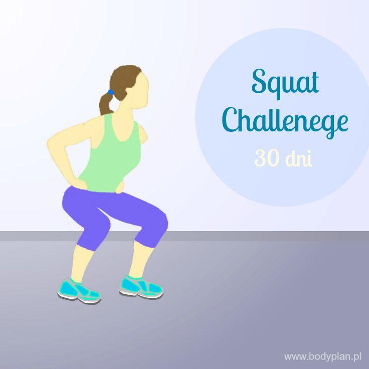 Squat challenge - 30 dni, 5 różnych przysiadów - efekt: zgrabne i jędrne pośladki w miesiąc!