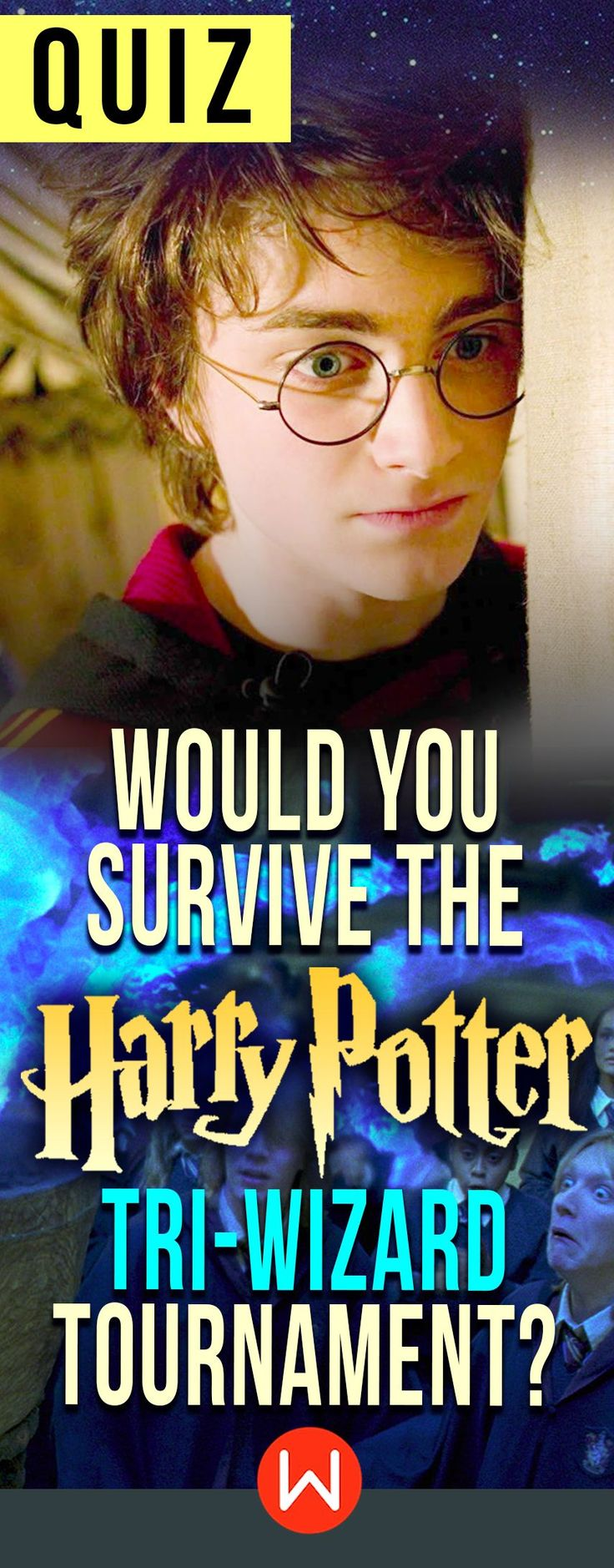 Quiz: Would you survive the Tri-Wizard Tournament? Do you have what it takes to win the hardest contest in the wizarding world? This HP quiz will test your wizard/witch skills. Harry Potter quiz, HP trivia questions, Hermione Granger, Ron Weasley, Cedric Diggory, Fleur Delacour... Are you ready? #survivalskills