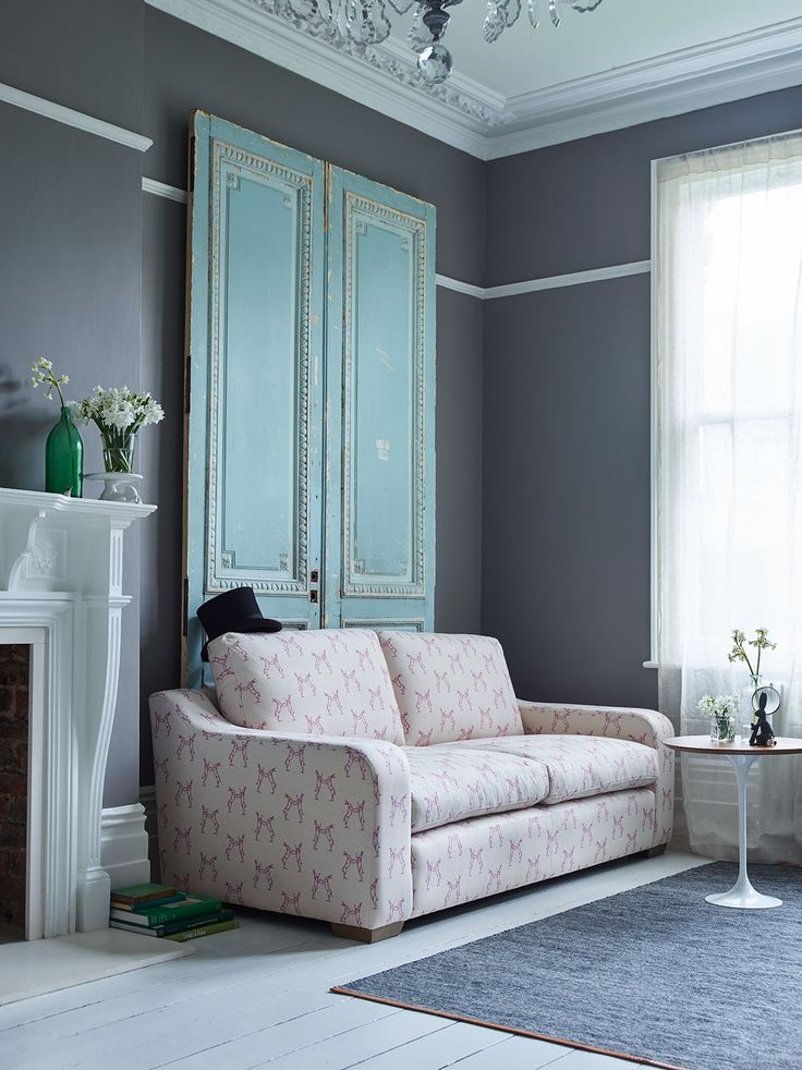 Pembroke Sofa Range Hop to it with our Boxing Hare fabric range