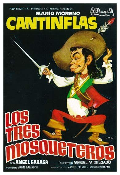 """Los tres mosqueteros (1942) """"Los tres mosqueteros"""" de Miguel M. Delgado - tt0162020"""