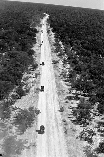 SADF patrol. | Convoy on Oom Willie se Pad, the military roa… | Flickr - Photo Sharing!
