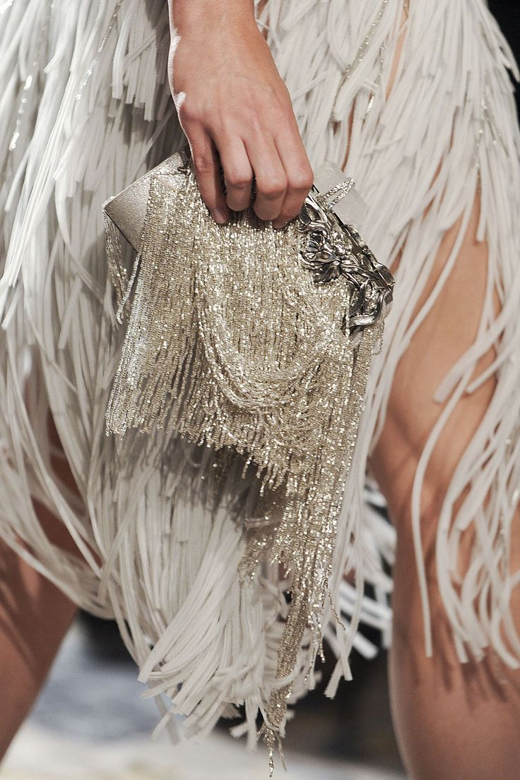 Beaded clutch / Marchesa