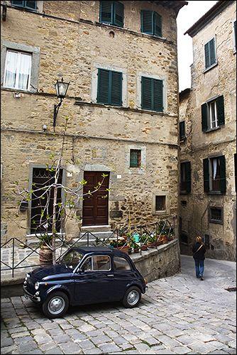 Italy, Tuscany, Cortona by daviDRombaut, via Flickr