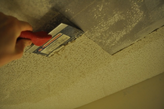 249 best images about for the home on pinterest sliding for How to remove popcorn ceiling without water