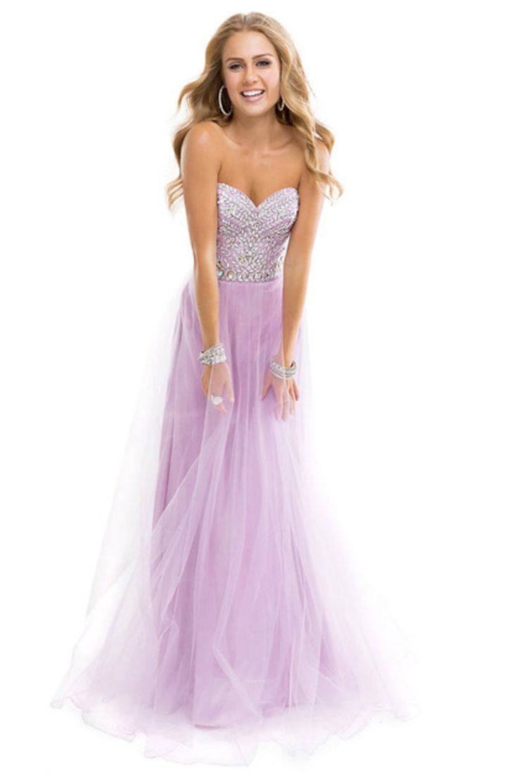 2014  Clearance  Prom Dresses Under 50 Sweetheart Tulle Lilac 1 Piece Only