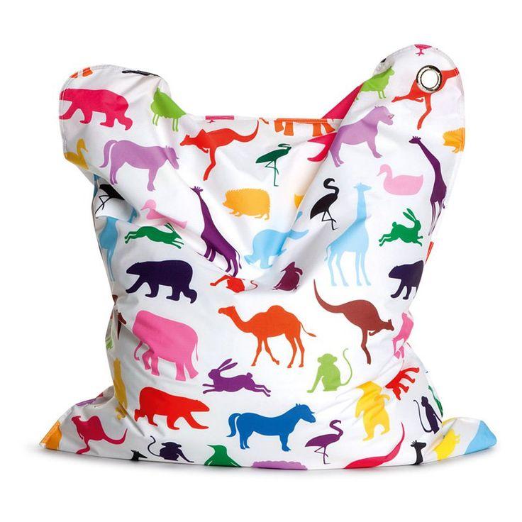 The BULL Mini Fashion Bean Bag Chair - Happy Zoo - 112-HZO