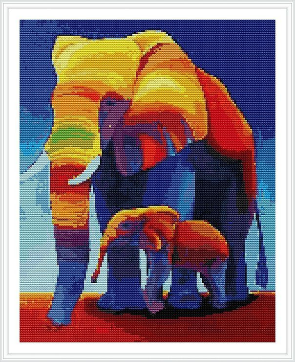 (1) Gallery.ru / Фото #2 - слон - irinakiz