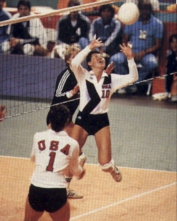Sonopics Posted To Instagram Who Remembers This Silver Medalist And Best Setter Ever Debbie Green Of Course Usa Volleyball Usa National Team 1984 Olympics
