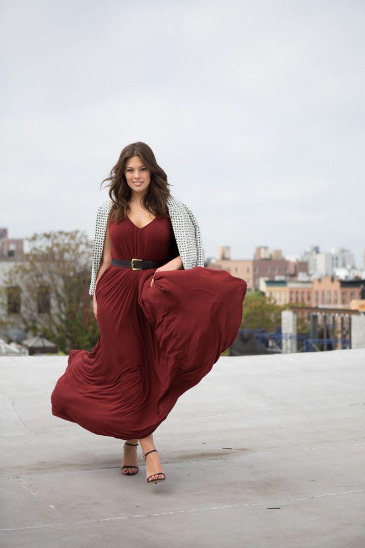 (Cara) Plus-Size Model Ashley Graham's Styling Tips | Glamour