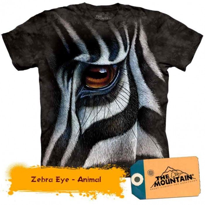Tricouri The Mountain – Tricou Zebra Eye
